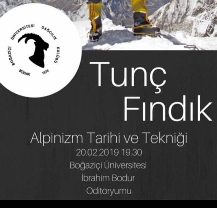 Tunç Fındık: Alpinizm Tarihi ve Tekniği